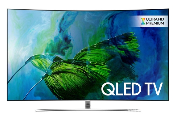 Samsung's 2017 QLED TV Line-up Awarded